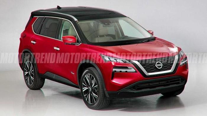 Xe Nissan đời mới cơ bắp