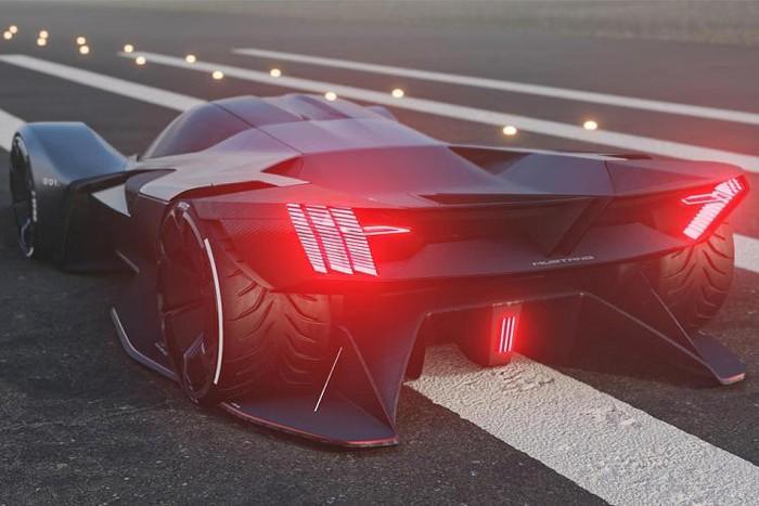 Siêu xe Mustang đẹp đời mới