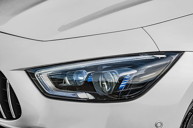 Đèn pha siêu xe Mercedes-Benz