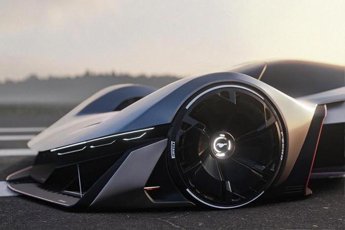 Thiết kế siêu xe tương lai