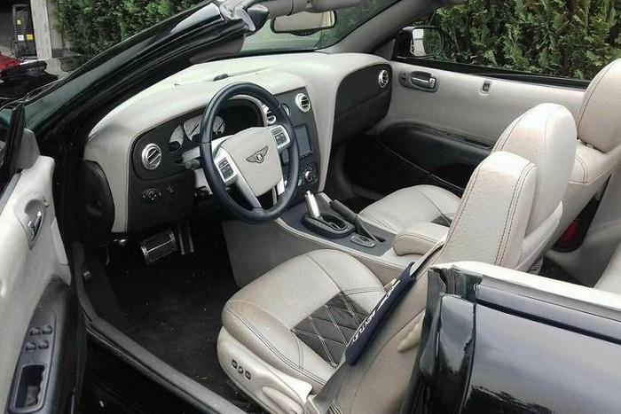 Nội thất xe Bentley hàng giả