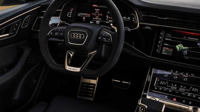 Nội thất xe sang Audi Q8