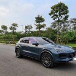 Porsche Cayenne màu xanh cực đẹp full Option cho dân chơi