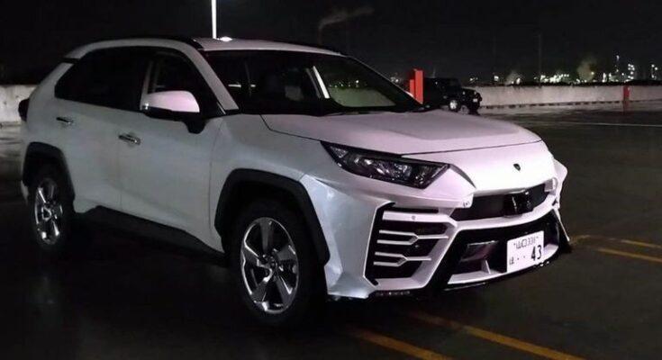 Toyota RAV4 độ Lamborghini đẹp
