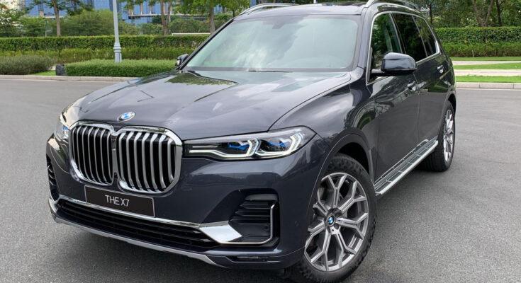Xe sang BMW X7 chính hãng