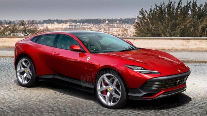 Siêu xe Ferrari SUV đầu tiên