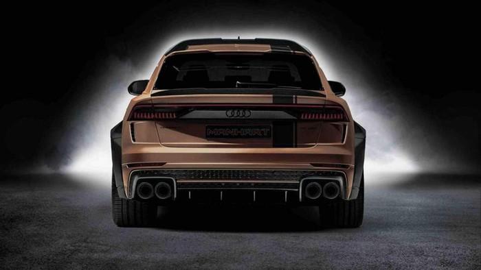 Đuôi sau siêu xe Audi