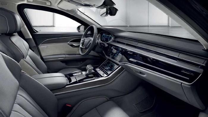 Nội thất xe sang Audi đẹp