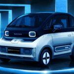 Xe điện mini khá đẹp Baojun E300 giá hơn 200 triệu đồng