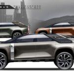 Land Rover Colossus xe bán tải và SUV hai trong một