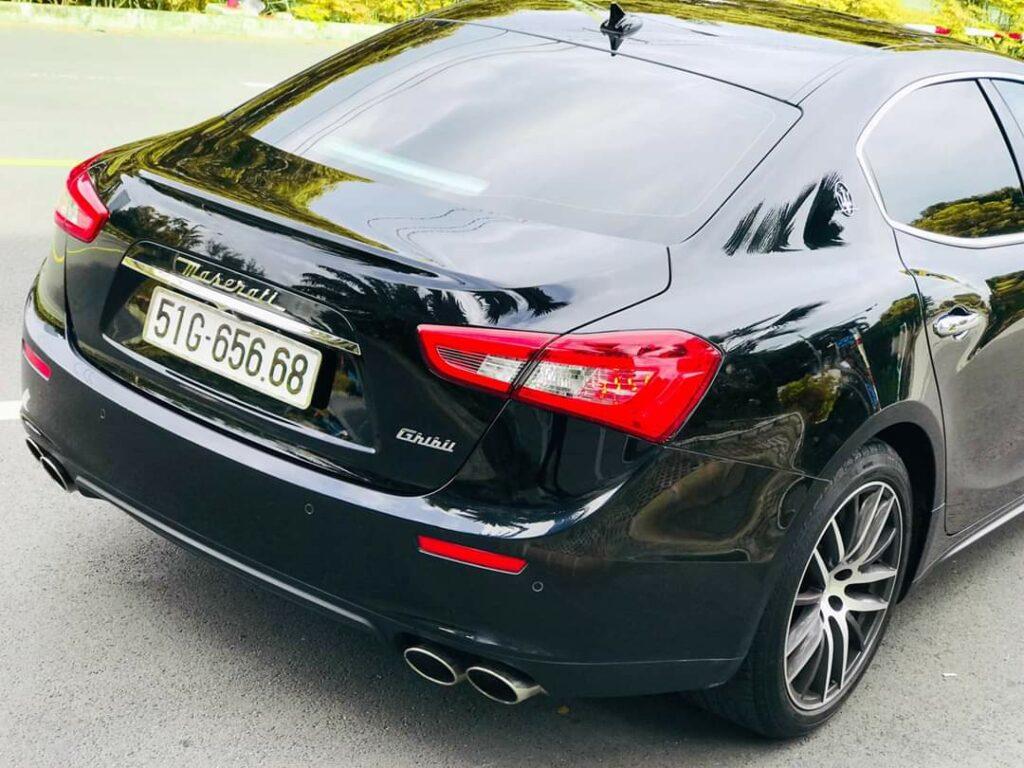 Siêu xe sedan của Maserati