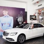 Ca sĩ Hiền Hồ mua Mercedes S450 giá gần 5 tỷ