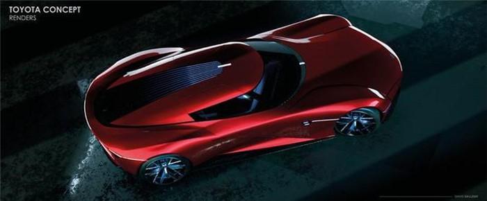 Siêu xe tương lai Toyota mới