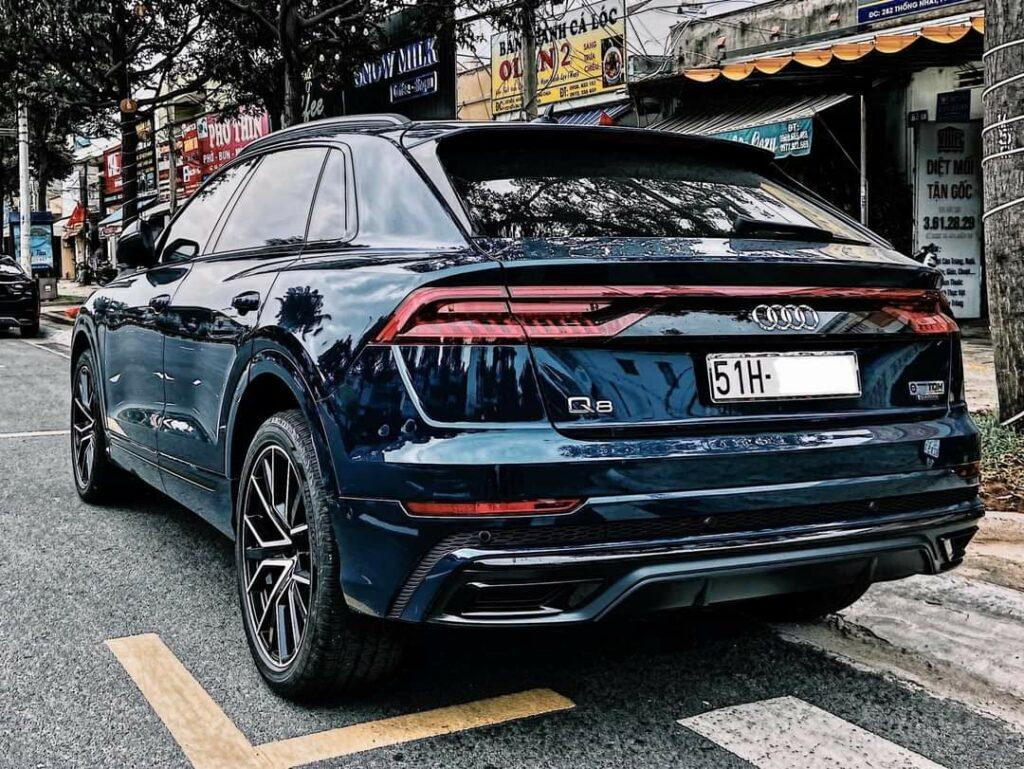 Đuôi siêu xe Audi Q8