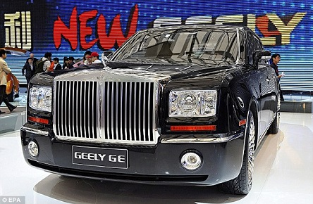 Geely GE nhái Phantom