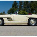 Mercedes-Benz 300 SL mui trần dùng 59 năm bán 1 triệu đô