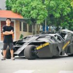 Sinh viên chi 500 triệu tự làm siêu xe Batmobile