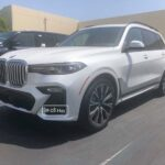 Ngắm BMW X7 2021 trắng tinh khôi về Việt Nam